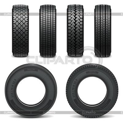 Vektor-Icons Reifen | Stock Vektorgrafik |ID 4357947