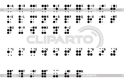 Blindenschrift | Illustration mit hoher Auflösung |ID 4390958
