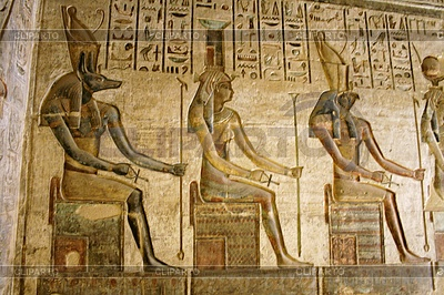 Hapsepsut templein Египет | Фото большого размера |ID 4379254