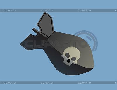 Bomb with skull | Klipart wektorowy |ID 4425562