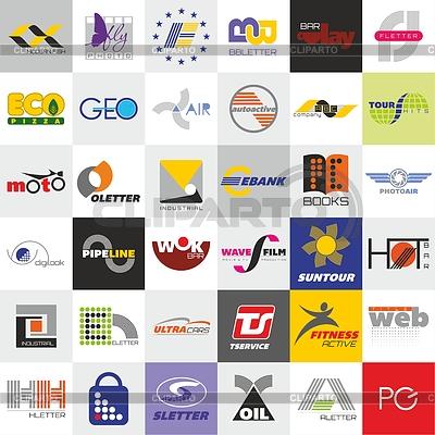 шаблоны логотипов бесплатно: